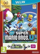 SUPER MARIO BROS.U + NEW SUPER LUIGI.U (Nintendo Wii, 2013)