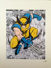 X-Men - Wolverine - Marvel Comics - Hand Drawn & Hand Painted Cel