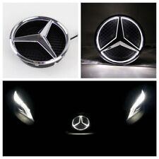 Mercedes Benz 2013-2015 Led Chrome Star Light Grill Car Logo Badge Emblem Front