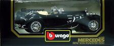 1 BURAGO MERCEDES BENZ 500K ROADSTER NOIR 1936 N°3020
