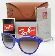 NEW Rayban sunglasses RB4360 123668 CatEye Blue Brown Gradient 4360 cat GENUINE