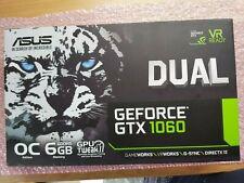 Asus Geforce GTX 1060 GeForce GTX1060 Internal Graphic Card 6GB DUAL-GTX1060-O6G