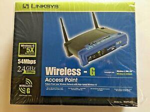 Linksys Wireless-G Access Point WAP54G 2.4GHz 802.11g - Open Box
