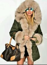 Faux Fur Floral Casual Coats & Jackets for Women