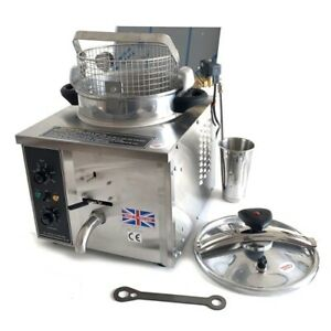 TABLETOP PRESSURE FRYER ST-XL 15L Type & Original Kuroma Parts  -COLLECTION ONLY