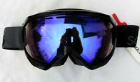 $120 Scott Mens Notice OTG Over The Glasses Black Grey Ski Goggles Illuminator