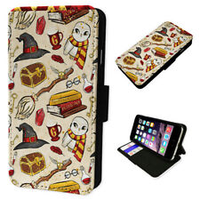 Wizard Accessories Yellow - Flip Phone Case Wallet Cover Fits Iphone 6 7 8 X 11
