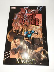 Marvel X-Men Black Panther Wild Kingdom TPB New Unread 9.4 FREE SHIPPING