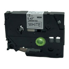 1PK TZ TZe-231 Black on White Label Tape Compatible for Brother  P-Touch 12mmx8m