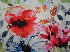 """Chivasso tissu """"fleurs de paradis"""" 3.6 mètres CH2721-060 grande échelle floral"""