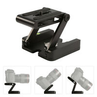 Z Type DSLR Folding Tripod Z Flex Pan Tilt Head Desktop Camera Stand Holder New