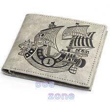 One Piece Monkey•D•Luffy Wallet Purse Cosplay Accessories