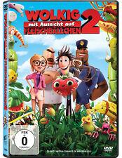 DVD * WOLKIG MIT AUSSICHT AUF FLEISCHBÄLLCHEN 2 # NEU OVP <
