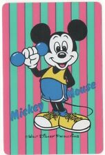 Swap Playing Cards 1 Japanese Nichiten Disney Mickey Mouse 1980's A181