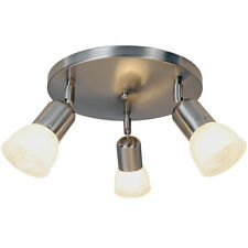 Monument 617620 Contemporary Canopy Ceiling Fixture in Brushed Nickel