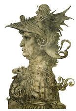Bust of a Warrior 1477 Leonardo da Vinci  Poster Print
