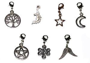 Wicca, Pagan, Celtic, Clip On Bag / Bracelet Charm's