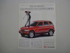 advertising Pubblicità 1997 KIA SPORTAGE