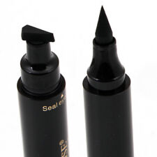 2 in 1 Pro Winged Eyeliner Stamp Waterproof Makeup Eye Liner Pencil Black Liquid
