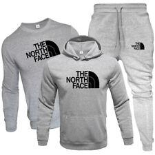 3Pcs Herren Hoodies Full Trainingsanzug Set Tops Hosen Jogging Gym Sportanzug
