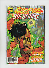 Sunfire and Big Hero Six #3 - Land Of The Rising Sun Part 3 - (Grade 9.0) 1998