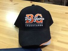 Big Game Tree stands Tree Stands EUC Black Embroidered Hat
