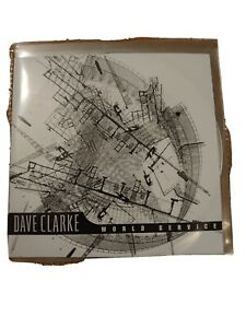 Dave Clarke World Service. Promo Copy 2 x CD react.