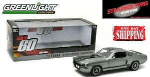 Greenlight Gone In 60 Sixty Seconds 1:18 1967 FORD MUSTANG SHELBY GT500 ELEANOR