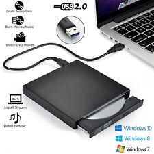 USB External DVD CD RW Disc Burner Combo Drive Reader Windows 98/8/7 Laptop PC
