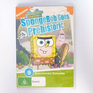 Spongebob Goes Prehistoric Movie DVD Free Postage Region 4 AUS - Kids
