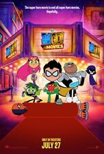 TEEN TITANS GO! TO THE MOVIES (2018) Original Authentic Movie Promo Poster 11x17