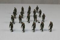 ro1683, Roco Minitanks 19 St. Soldaten / Soldiers TOP gesupert 1:87 H0 Sie Fotos
