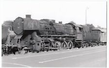 Poland; Steam Locomotive Ty2-406 At Wolsztyn Depot, 31-5-04 PC Size BW Photo