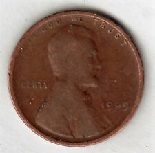 1909 LINCOLN CENT in GOOD condition stk L09-G-10