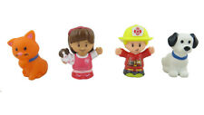 NEW ~ FISHER PRICE Little People Animal Rescue Replacement Figures Lot of 4