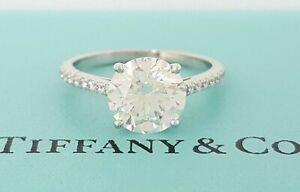 Tiffany & Co NOVO 1.12 ct Platinum Round Cut Diamond Engagement Ring$20K