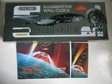 Star Trek Insurrection Illuminating 1701-E Wall Clock – Working & 10 Phone Card