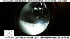 """COPPIA 2 LAMPADINE LED BIANCO GHIACCIO POSIZIONI """"MERCEDES-BENZ VITO (W639)"""""""