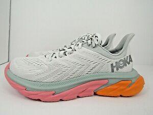 WOMEN'S HOKA ONE CLIFTON EDGE  size 9.5 ! RUNNING ! WORN LESS THAN 15 MILES!!