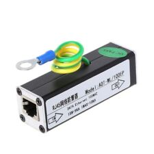 Network Rj45 Monitoring Camera Protector Surge Protection Lightning Arrester