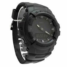 Casio G-shock G100bb-1a Black out Series Matte Resin Analog 200m Men's Watch