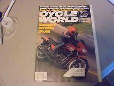 MARCH 1982 CYCLE WORLD MAGAZINE,KAWASAKI GPZ750,CAN-AM 250,HONDA CR480R,YAMXS650