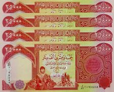SHIP from CANADA Iraqi Dinar 10 X 25,000 TOTAL 250,000 UNCIRCULATED