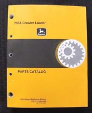 Genuine John Deere 755A Crawler Loader Tractor Parts Catalog Manual Very Clean