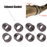 Motorcycle Exhaust Link Pipe Interface Graphite Gasket Seal Ring Reinforced Gap
