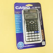 Casio FX-991EX Engineering/Scientific Calculator, 15-Digit LCD Black #2593