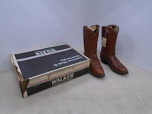 Walker vintage cowboy boots size 8 1/2 NIB