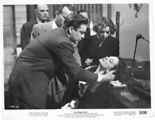 "Mary Murphy, Edmond O'Brien ""The Turning Point"" vintage movie still"
