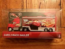 Disney Pixar Cars 3 MACK HAULER Lightning McQueen 95 Walmart Exclusive In Stock
