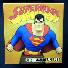 Superman Animated Bust Statue #249 Limited Ed DC Comics New from 2016 .
